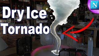 We Made A TORNADO!! | Dry Ice Tornado Experiment