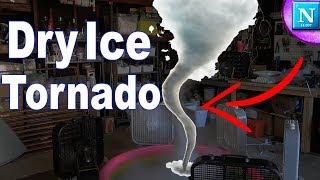 We Made A TORNADO!! | Dry Ice Tornado Experiment