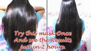 Get rid of Dry, Frizzy & Damaged Hair in 2 hours | Hair Growth Treatment & Hairfall control. | DIY