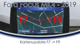 [Ford Focus 2018/2019 MK4] #60 F9 Kartenupdate