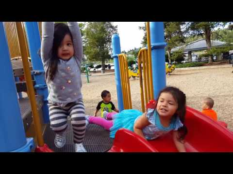 Kids' outdoor playground - kids play