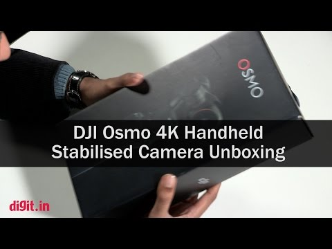 DJI Osmo 4K Handheld Stabilised Camera Unboxing