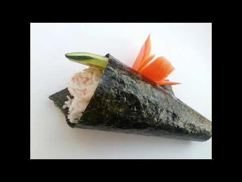 Download How to make a hand roll(Temaki) Images