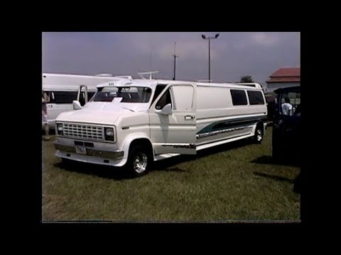 Custom Van Show from Butler, PA. 1999 Van Nats