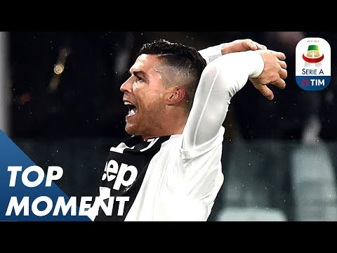 Ronaldo Scores his 17th Goal for Juventus! | Juventus 3-3 Parma | Top Moment | Serie A