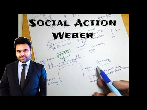 Max Weber - Social Action - Sociology (in English)