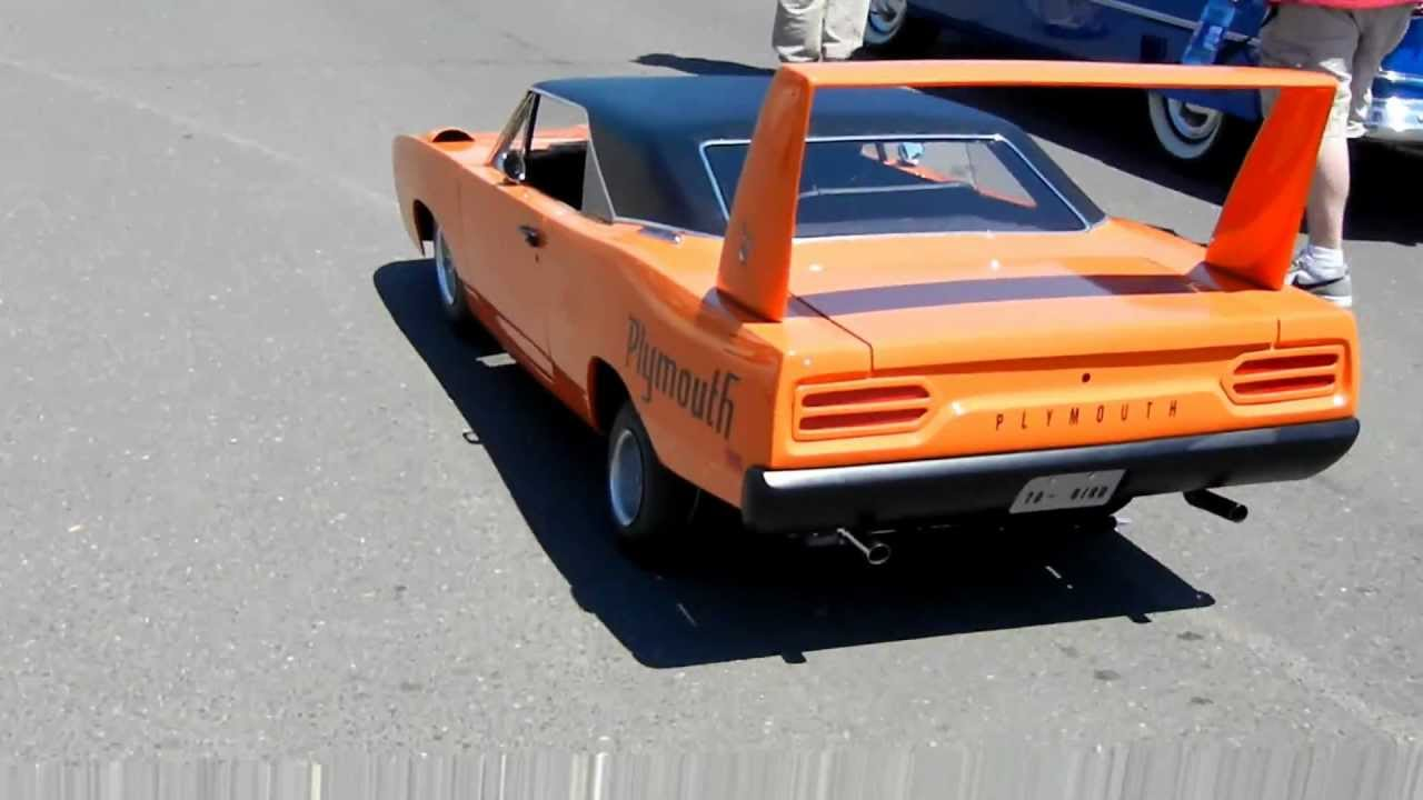 1970 Plymouth Superbird- 1/2 scale - YouTube