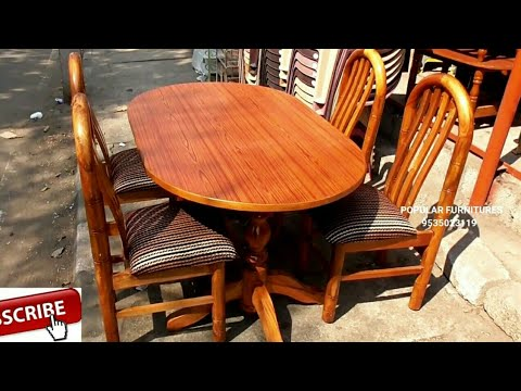 Wooden Dining Table in Popular Furnitures Yeshwanthpur Bengaluru