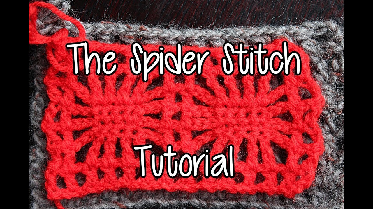 How to crochet the spider stitch youtube bankloansurffo Images