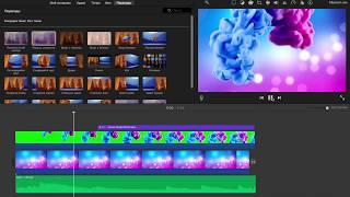 как сделать интро в iMovie