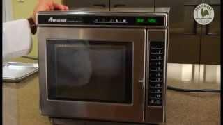 Amana Microwave RC30S2 Training Video