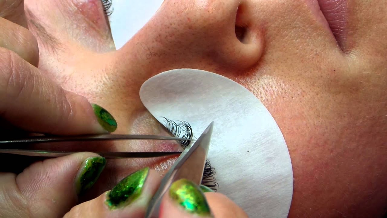 Eyelash Extension Isolation Video Youtube