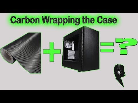 WC loop Exploded Part 2 -Carbon fiber wrapping the case