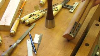Townsend Card Table   Table Top Hinge   Step 29