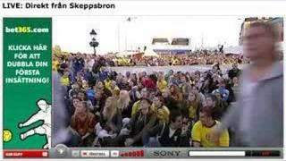 Aftonbladet kör live från EM - typ