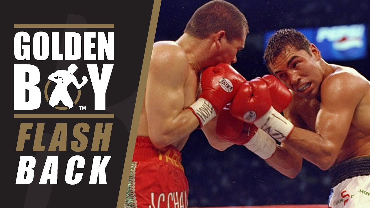 1b196c8f421b Golden Boy Flashback  Oscar De La Hoya vs Julio Cesar Chavez I (Fight  Anniversary). Golden Boy Boxing