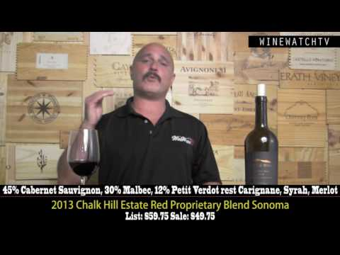 Chalk Hill Estate Red 2013 Offering - click image for video