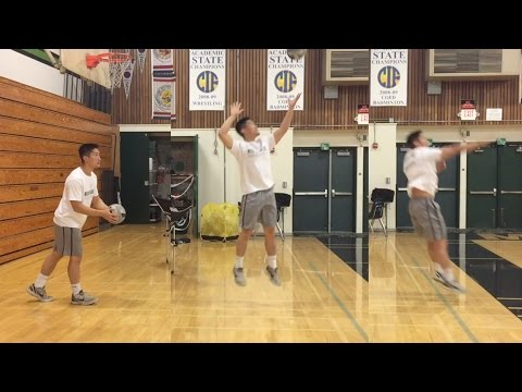 JUMP Float Serve - How to SERVE a Volleyball Tutorial (part 2/3)