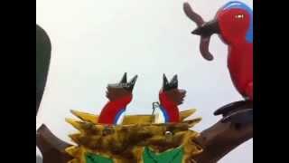 Birds Feeding Whirligig