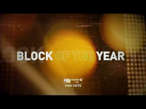 2018 Block Of The Year Nominees | NBA Awards