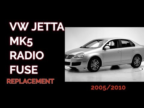 HOW TO REMOVE/REPLACE THE RADIO FUSE IN A 2007 VW JETTA MK5 - YouTubeYouTube