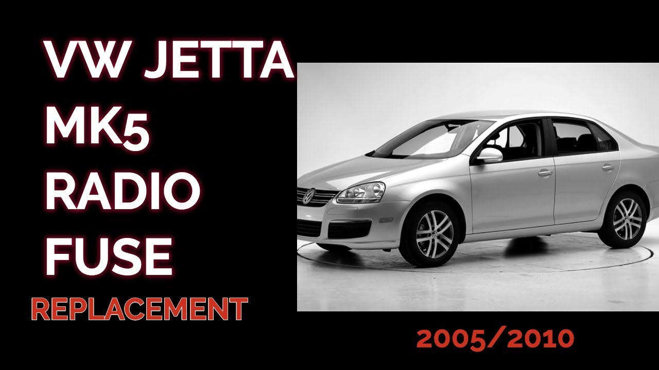 how to remove replace the radio fuse in a 2007 vw jetta. Black Bedroom Furniture Sets. Home Design Ideas