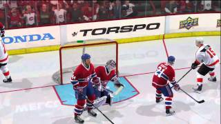 NHL 11 Gameplay Highlights XBOX 360 (Flyers vs Canadiens) HD