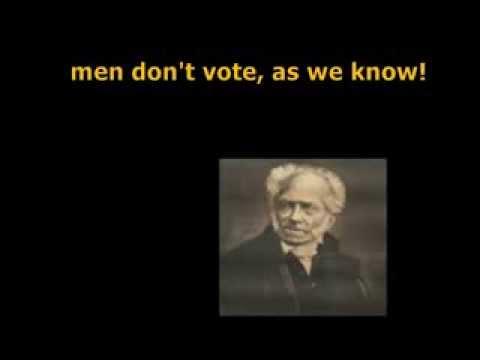 Re: A God Among MGTOW - Arthur Shopenhauer
