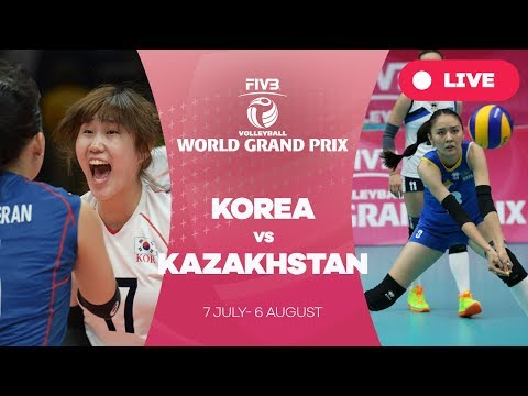 Korea v Kazakhstan - Group 2: 2017 FIVB Volleyball World Grand Prix