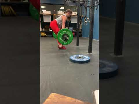 B. Clean Lift off the below knee + pause 2 sec