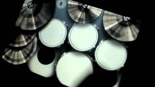 canon rock drum cover by iphone