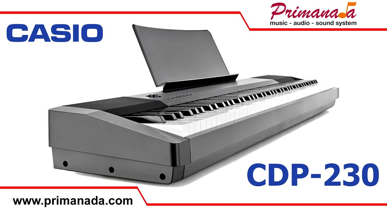 casio cdp 230 digital piano youtube. Black Bedroom Furniture Sets. Home Design Ideas