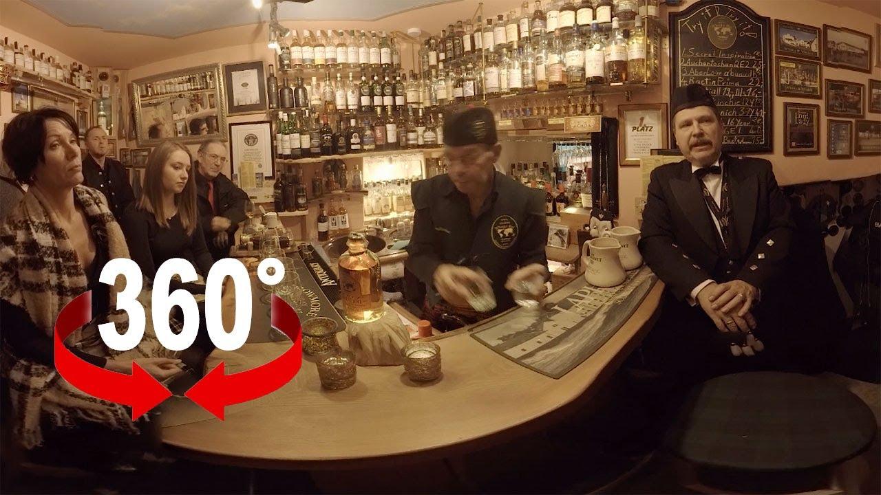 das ist die kleinste whisky bar der welt i 360 video youtube. Black Bedroom Furniture Sets. Home Design Ideas