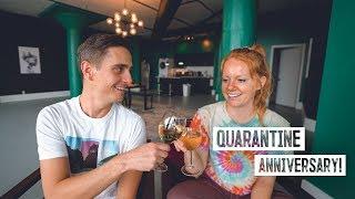 Celebrating Our Anniversary! ?... IN QUARANTINE ? Update & Apartment Tour