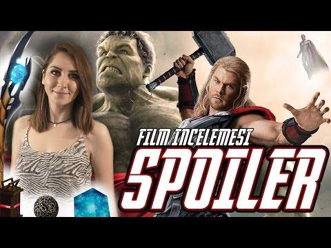 Avengers Age Of Ultron İcelemesi -  ( SPOILER ) - Filmden Sonra