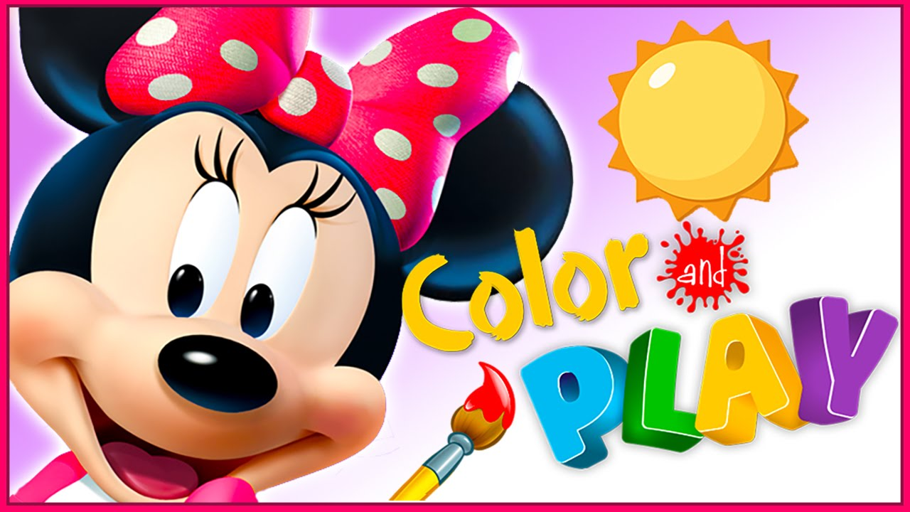 Minnie Mouse Color And Play: Minnie\'s Garden - Disney Junior ...