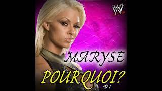 """WWE: Maryse Theme - """"Pourquoi?"""" [V1] (Arena Effect)"""