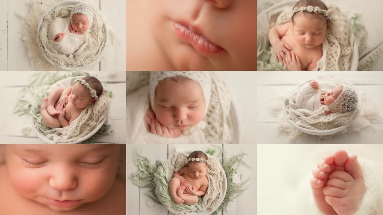 Wrapping Posing Tutorial Crisscross Technique Newborn Photography