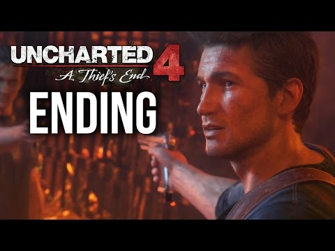 Uncharted 4 ENDING & EPILOGUE Gameplay Walkthrough Part 24