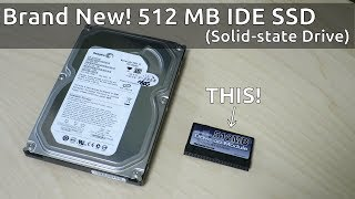 Brand new! 512 MB IDE SSD (ATA solid-state drive)