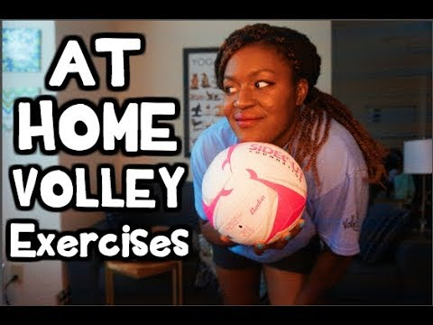 AT HOME Volleyball WORKOUT for Beginners!