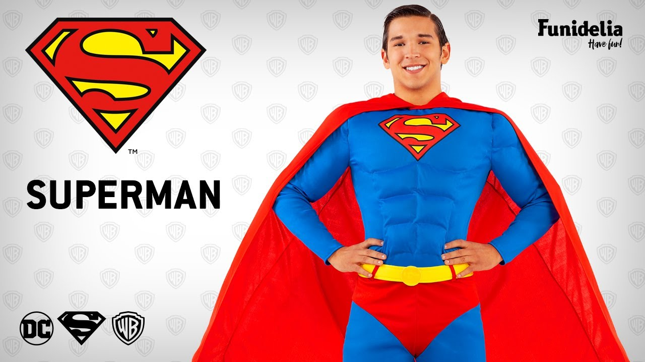 Funidelia superman costumefunidelia � officially licensed warner bros.