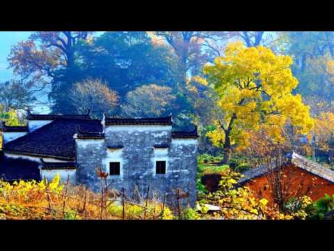 Jiangxi Wuyuan Shicheng fog autumn - China (HD1080p)
