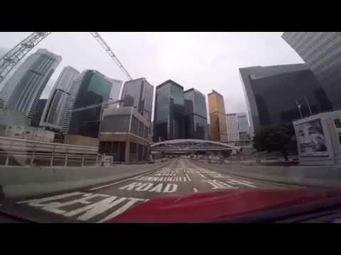 Driving on Hong Kong Island