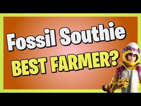 *NEW* Best Farming Outlander! - Fossil Southie In Fortnite Save The World