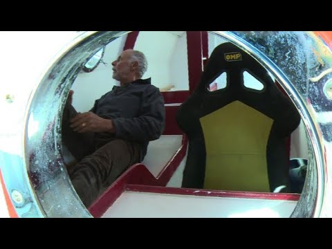 71-year-old Frenchman to cross Atlantic in a barrel