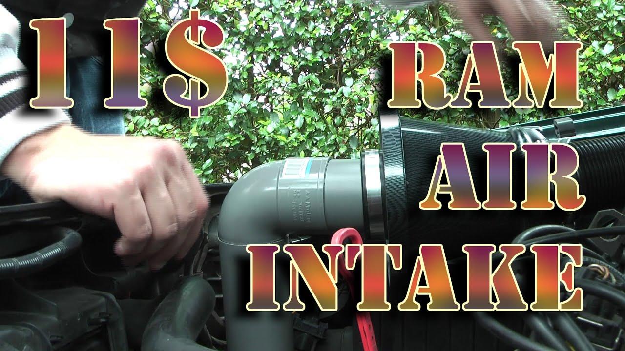 Bumper Ram Air Intake Cold Air Intake Car Cheap Or Free
