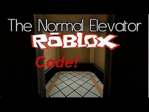 roblox the elevator code