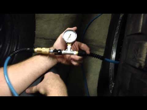 Instant Air Supply gauged inflation chuck demonstration!!!