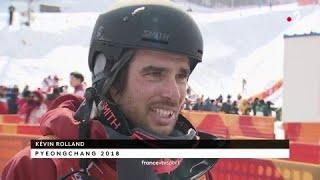 JO 2018 : Ski halfpipe Hommes / Kevin Rolland :